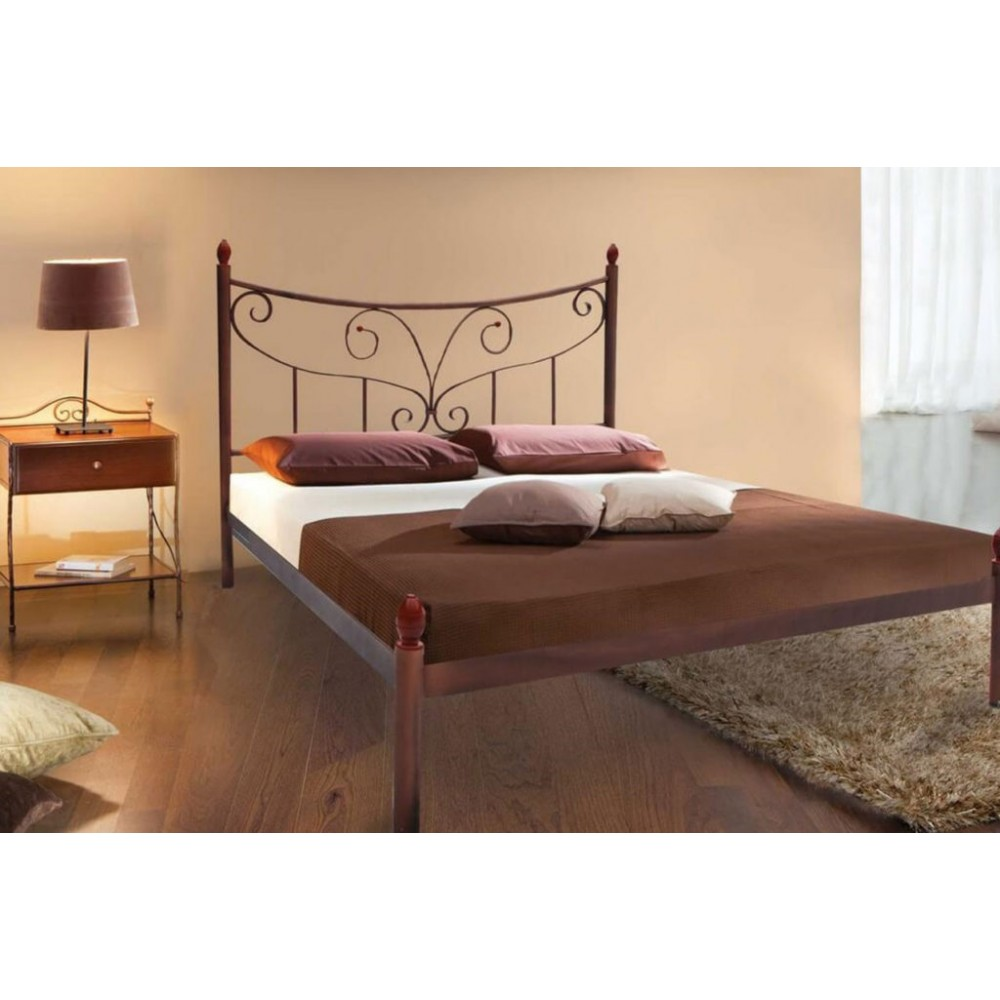 Кровать металлическая луиза1600*2000