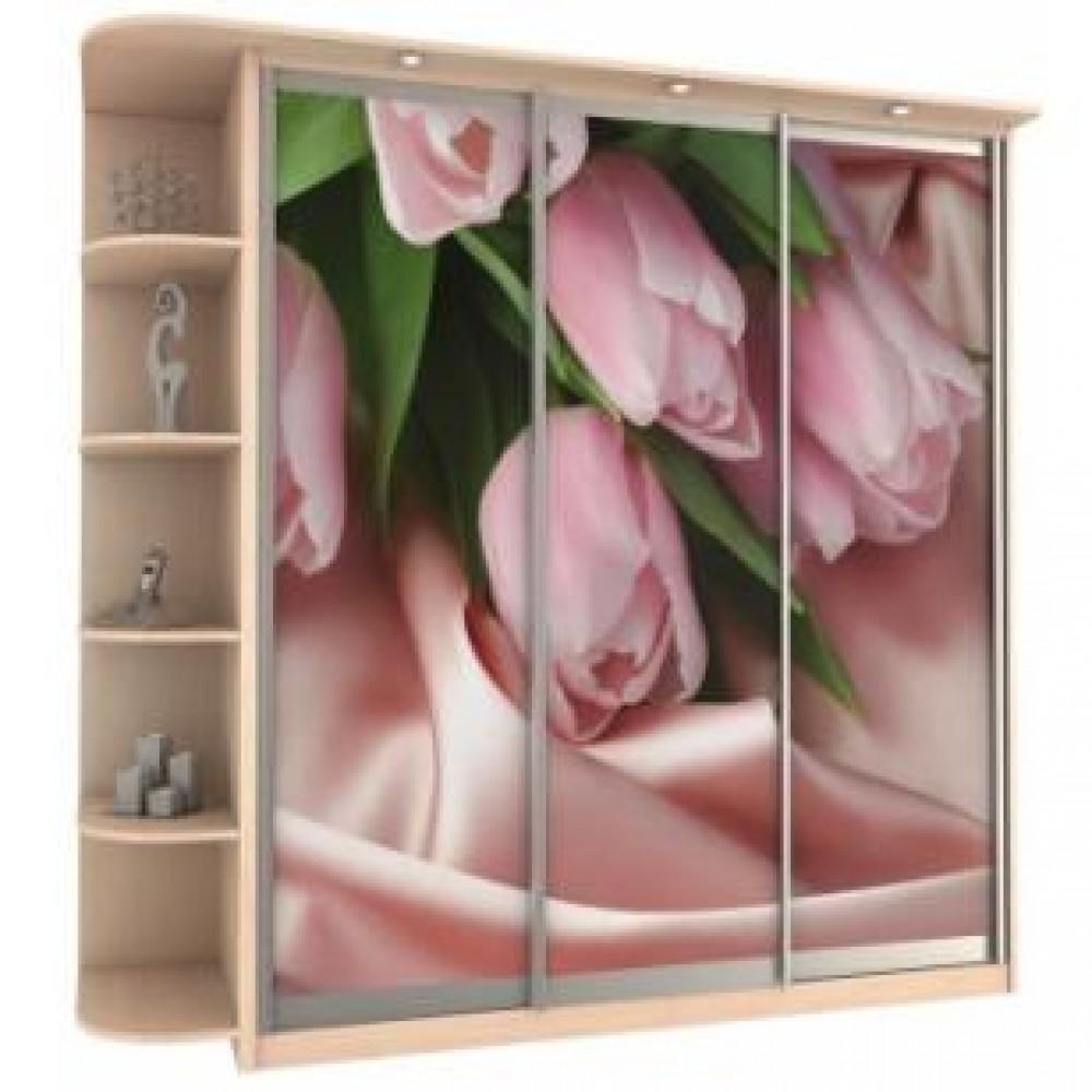 Образцы рисунков фотопечати на 3 двери