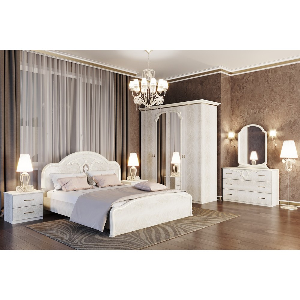Спальный гарнитур 6Д Лаура
