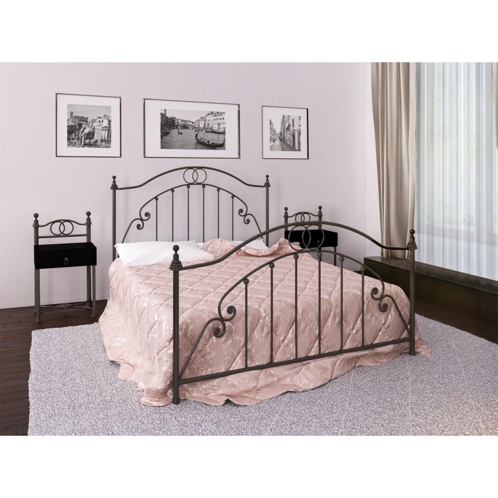 Кровать металлическая Флоренция 1600*2000