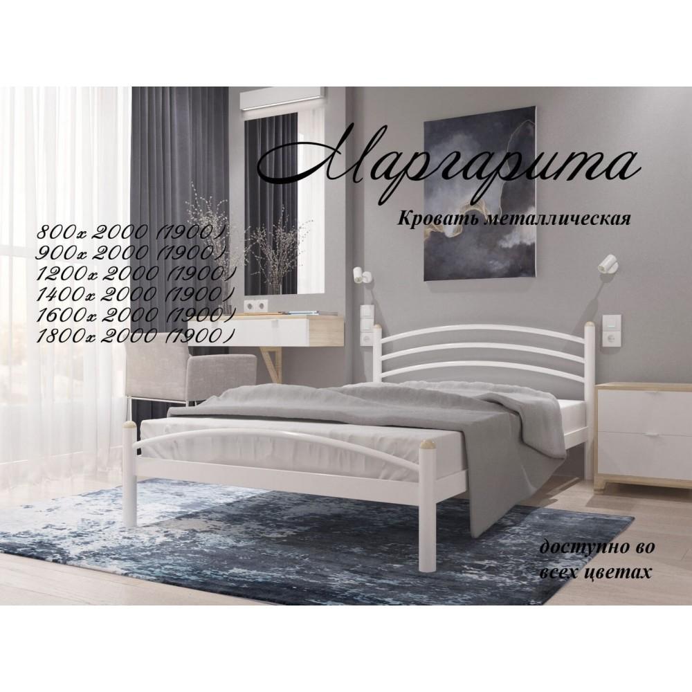 Кровать металлическая  Маргарита 1600*2000