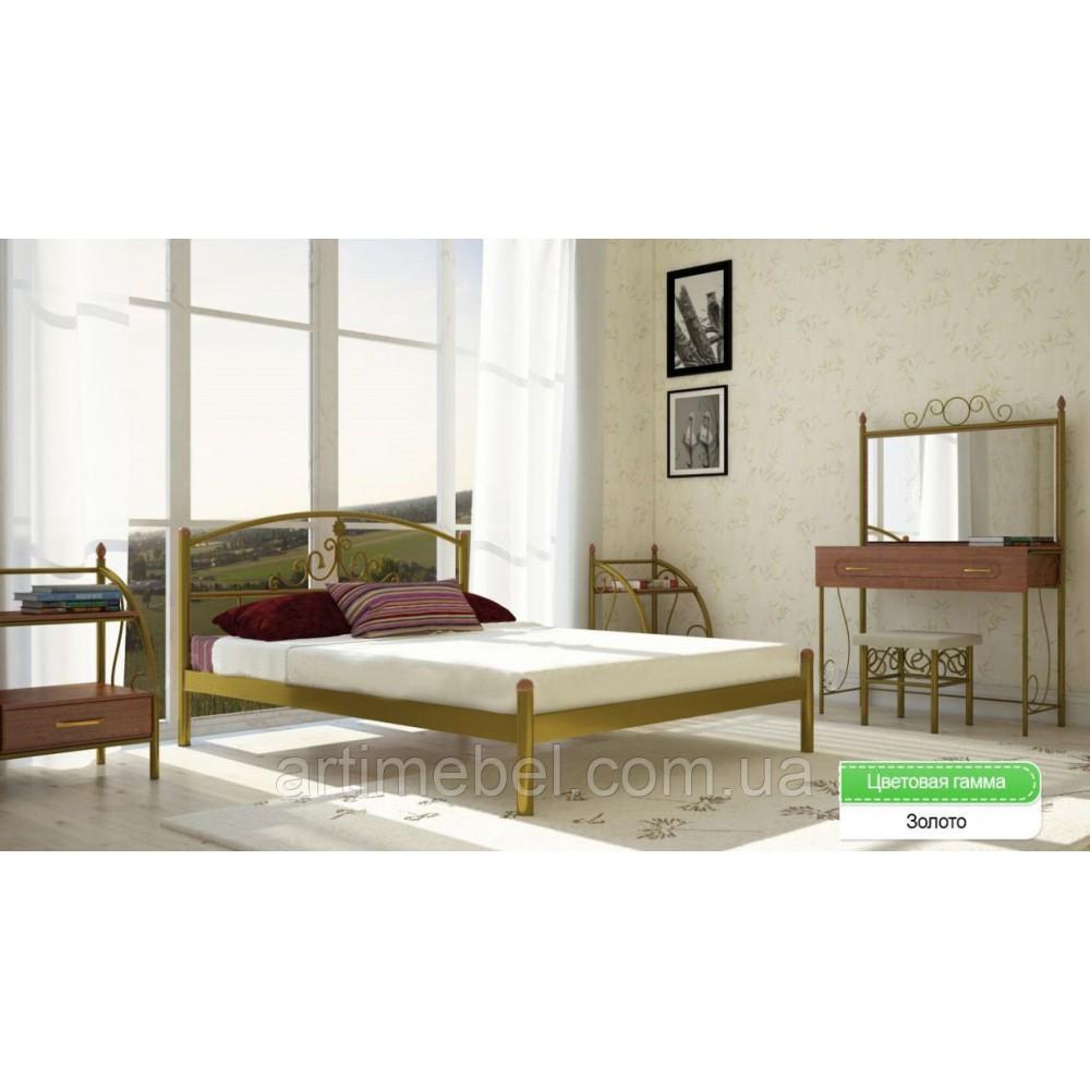 Кровать металлическая Кассандра 1600*2000