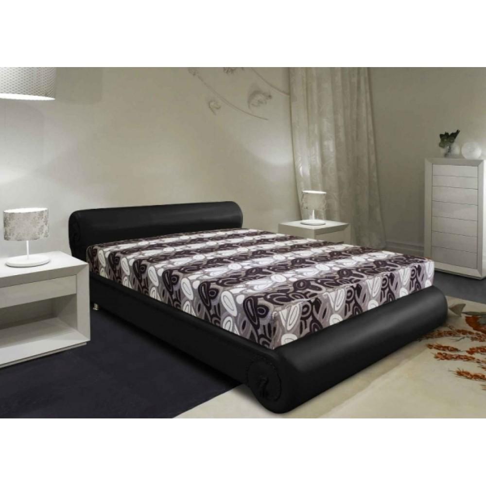 Кровать Турчанка (встроенный матрас 160х200 см., независимый пружинный блок)